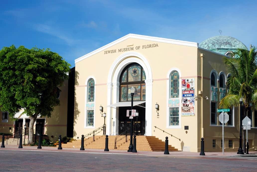 Die ehemalige Synagoge, heute das Jüdische Museum in Miami
