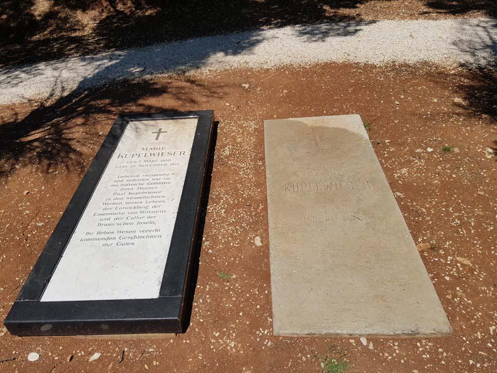 UBIO SE NAKON SLOMA BERZE 1929: Grobovi Marije i Karla Kupelvajzera