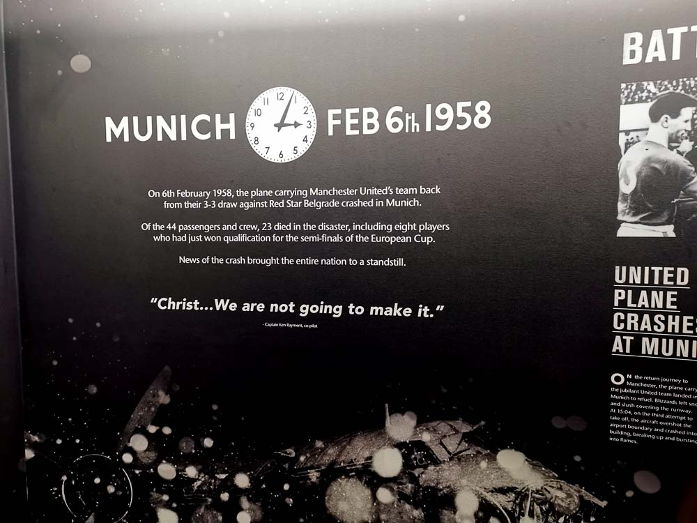 Deo muzeja posvećen avionskoj tragediji u Minhenu 1958.
