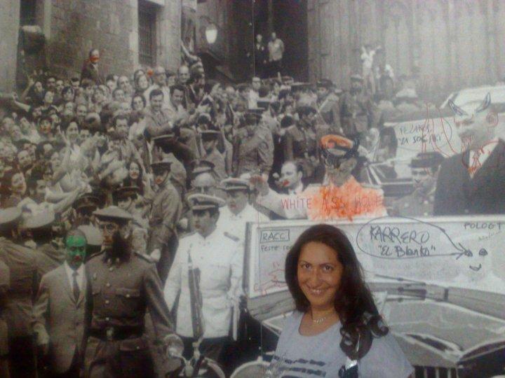 Izlozba povodom 40. godisnjice Frankove posete Barseloni 1970. kada su u gradu izbile demonstracije...