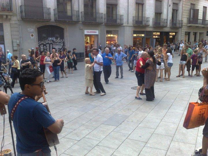 Ulični ples...