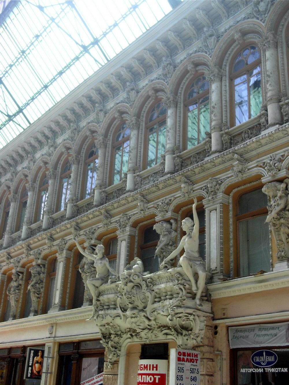 """Tržni centar """"Passaž"""" u Odesi: ovde su """"stanovala"""" Faberžeova jaja, u vreme kada su carevi vladali mnogim zemljama, a robne kuće su izgledale kao palate..."""