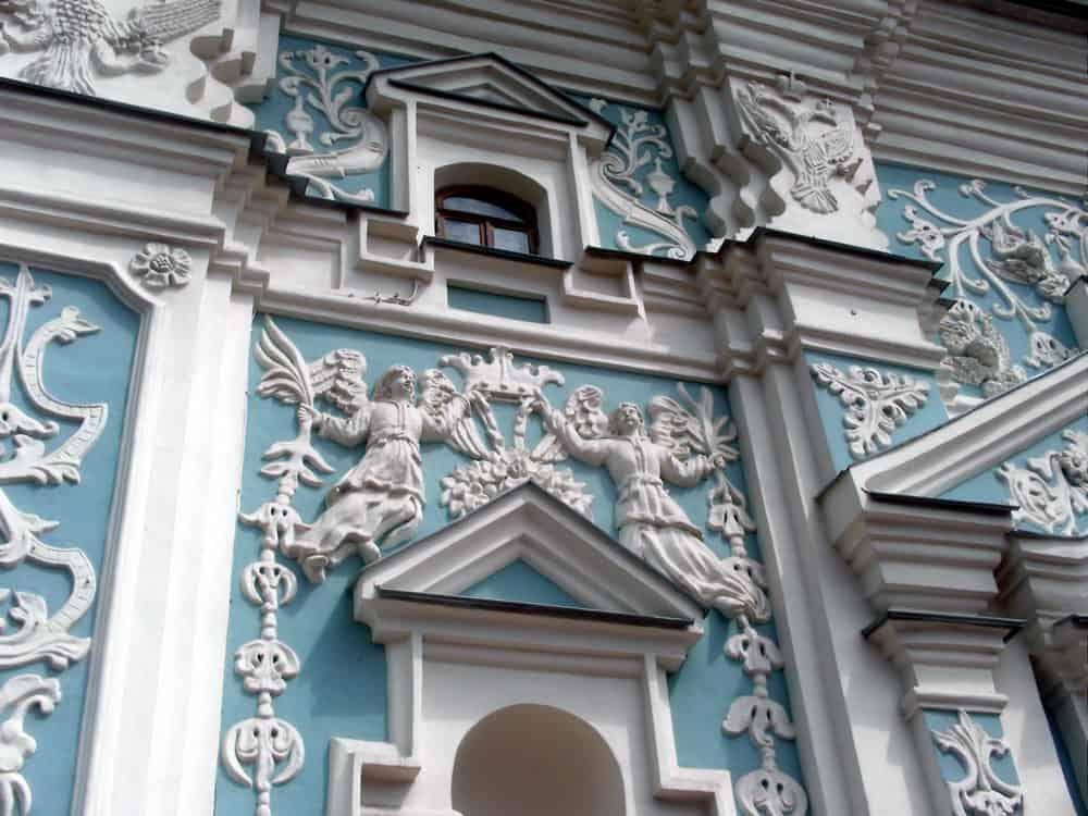 Ornamentacija na crkvi Svete Sofije u Kijevu: ukrajinski barok jedan je od dašaka Zapada na pravoslavnom Istoku...