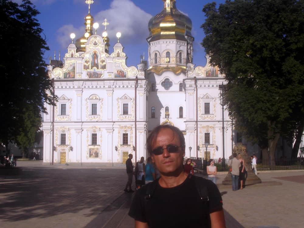 Vaš reporter u Kijevo-Pečerskoj lavri