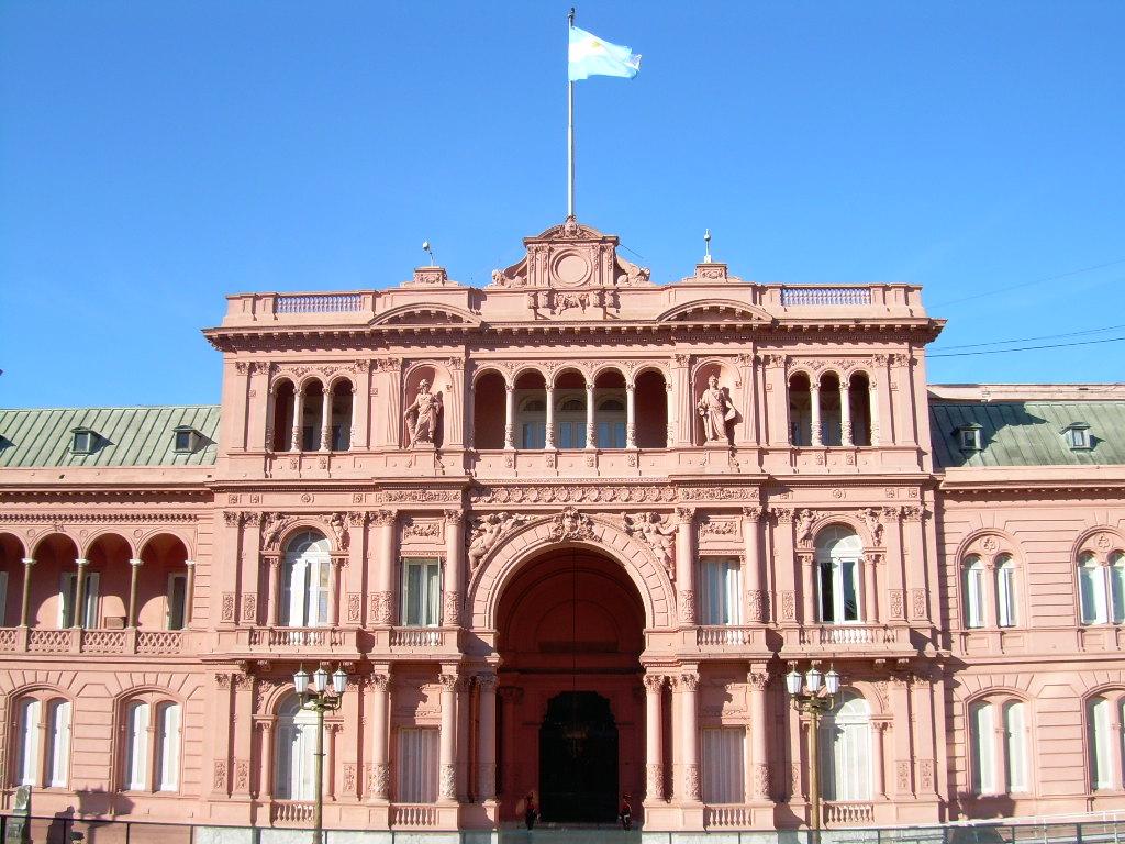 CASA ROSADA: Predsednička palata u Buenos Airesu