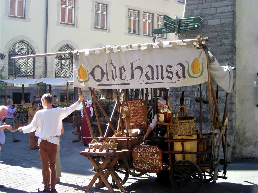 Talin je duboko srednjovekovni, hanzeatski grad