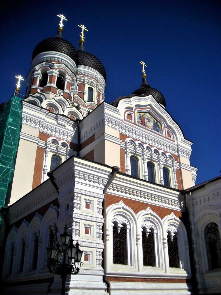 U Talinu su se mešali pravoslavci (na slici Saborna crkva), katolici i protestanti