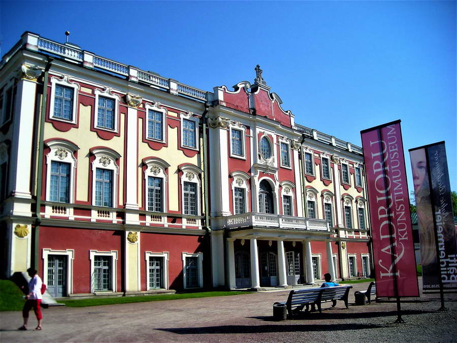 Katerinental ili Kadriorg je veliki par i rezidencija Petra Velikog na obali Baltika