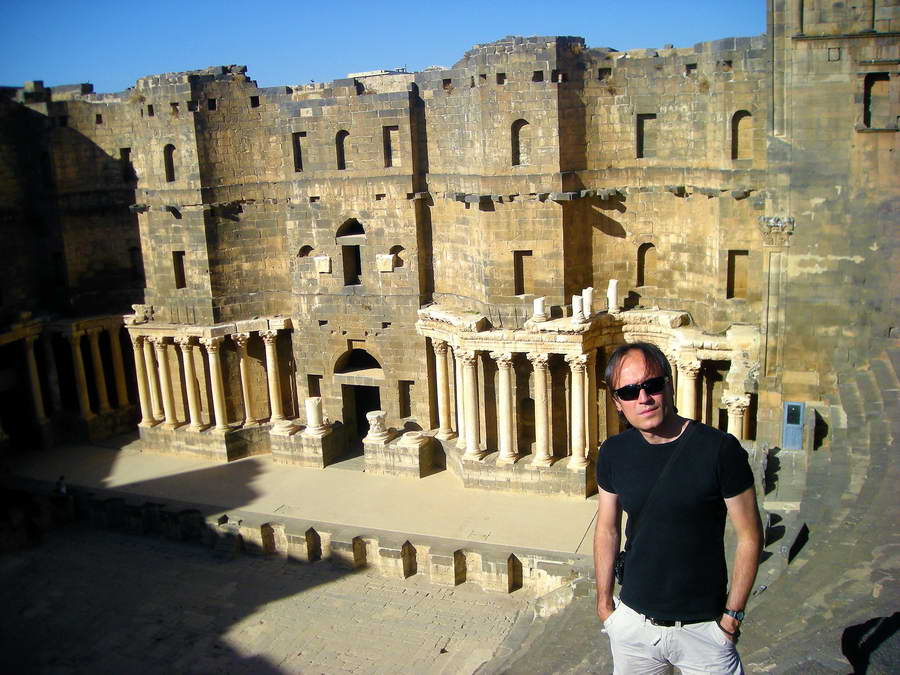 Bosra, amfiteatar u nabatejskom gradu
