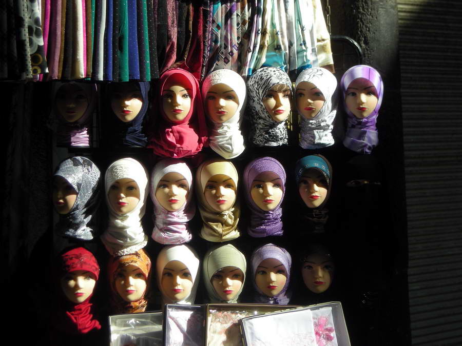 Moda u Damasku, za devojke muhamedanske vere