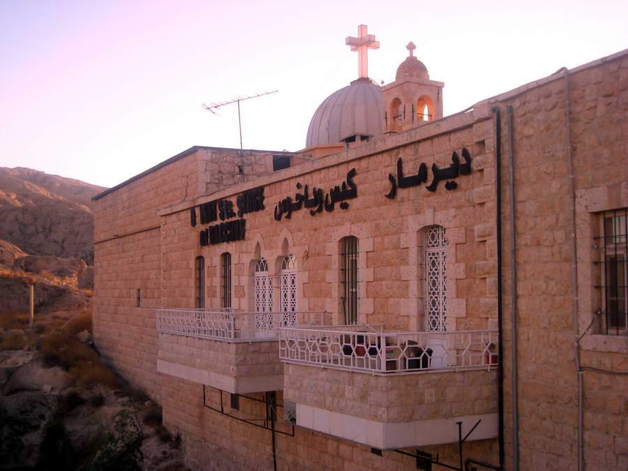 Manastri sv. Sergija i Vakha – jedan od najstarijih na svetu, na stenama iznad Malule