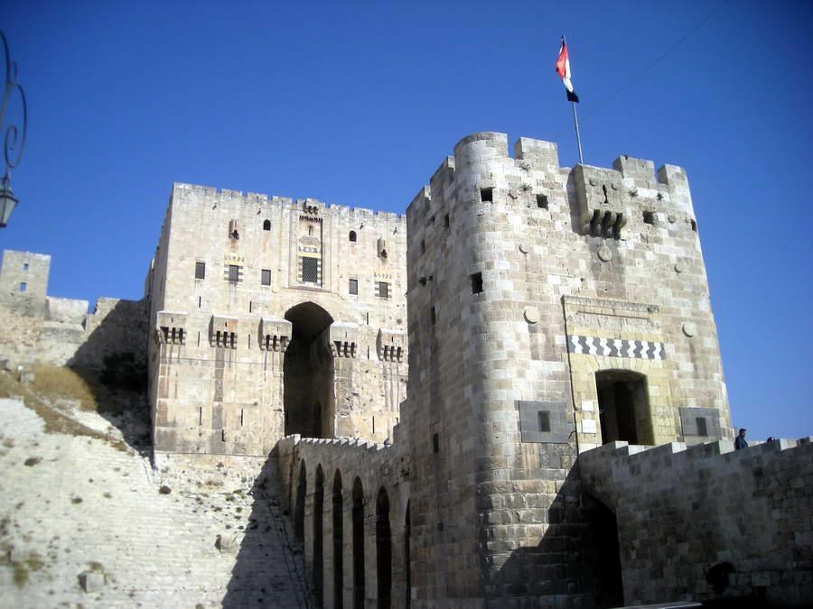 Saladinova tvrđava u Alepu