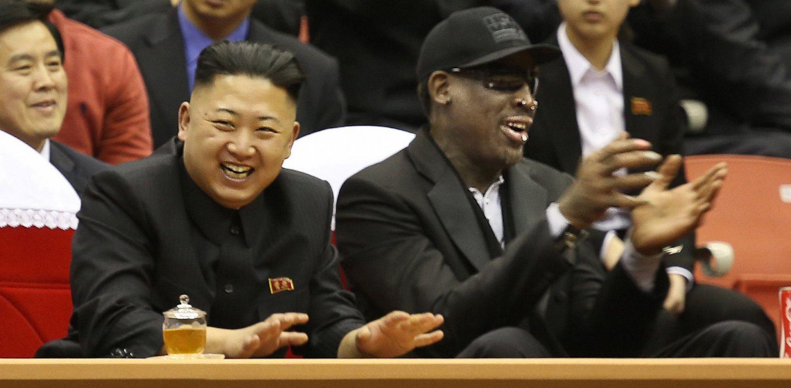 Denis Rodman i Kim Džong Un - stari prijatelji