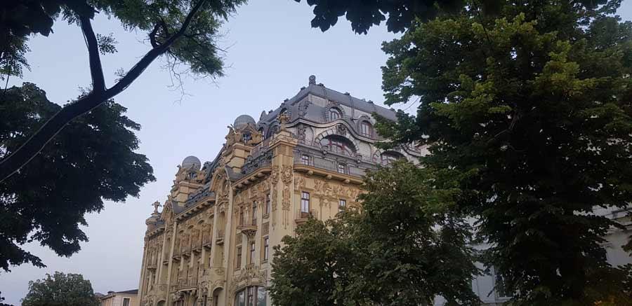 IMPRESIVNA ARHITEKTURA: Zgrada u centru Odese