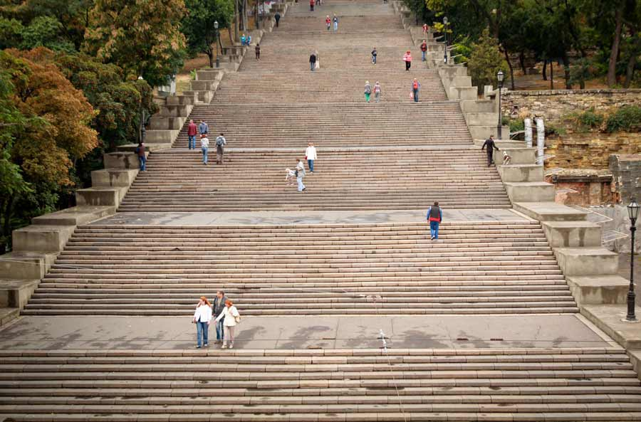 PROSLAVIO IH SERGEJ AJZENŠTAJN: Potemkinove stepenice