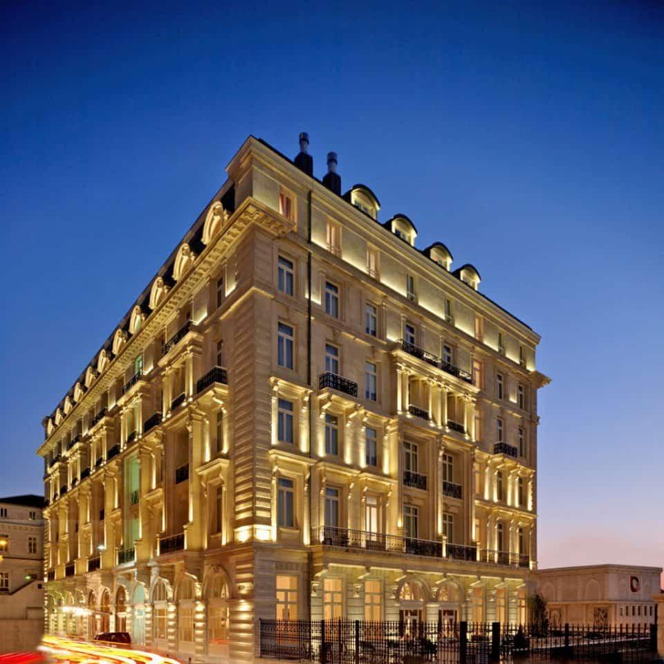 """DAS ERSTE """"EUROPÄISCHE HOTEL"""" IN KONSTANTINOPEL: Pera Palace"""