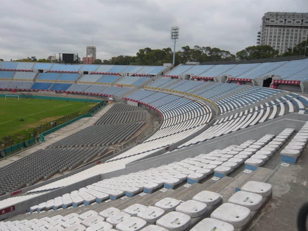 Das Nationalstadion in Montevideo: Die Hoffnung auf eine neue Fußballweltmeisterschaft