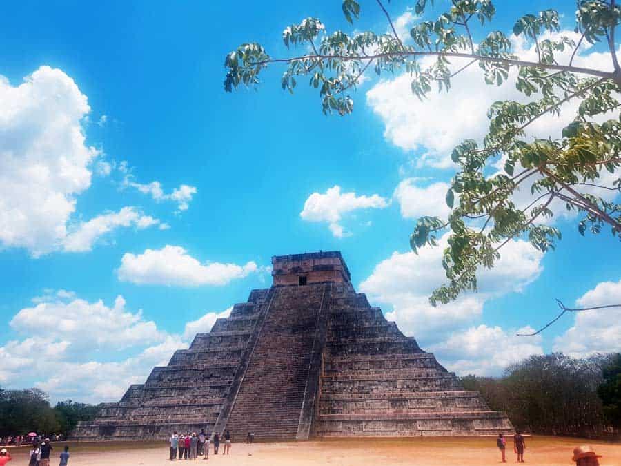 Apocalypto: die erste Assoziation - Seit 2006 ist das Besteigen von El Castillo verboten