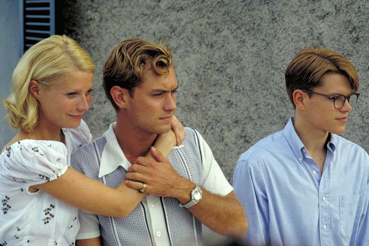 "Met Dejmon, Gvinet Paltrou i Džad Lou: Scena iz filma ""Talentovani gospodin Ripli"""