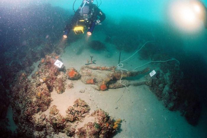 Apoksiomen na mestu gde je ležao preko 2000 godina