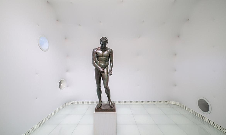 Postavka posvećena jednoj skulpturi: Muzej Apoksiomena