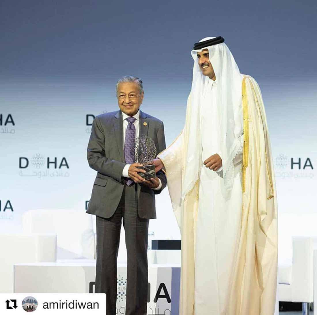 Mladost i iskustvo: Emir Države Katar i premijer Malezije
