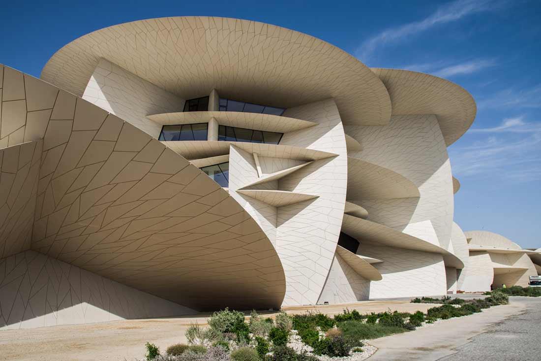 "Inspirisan ""Rustinjskom ružom"": Nacionalni muzej u Dohi"