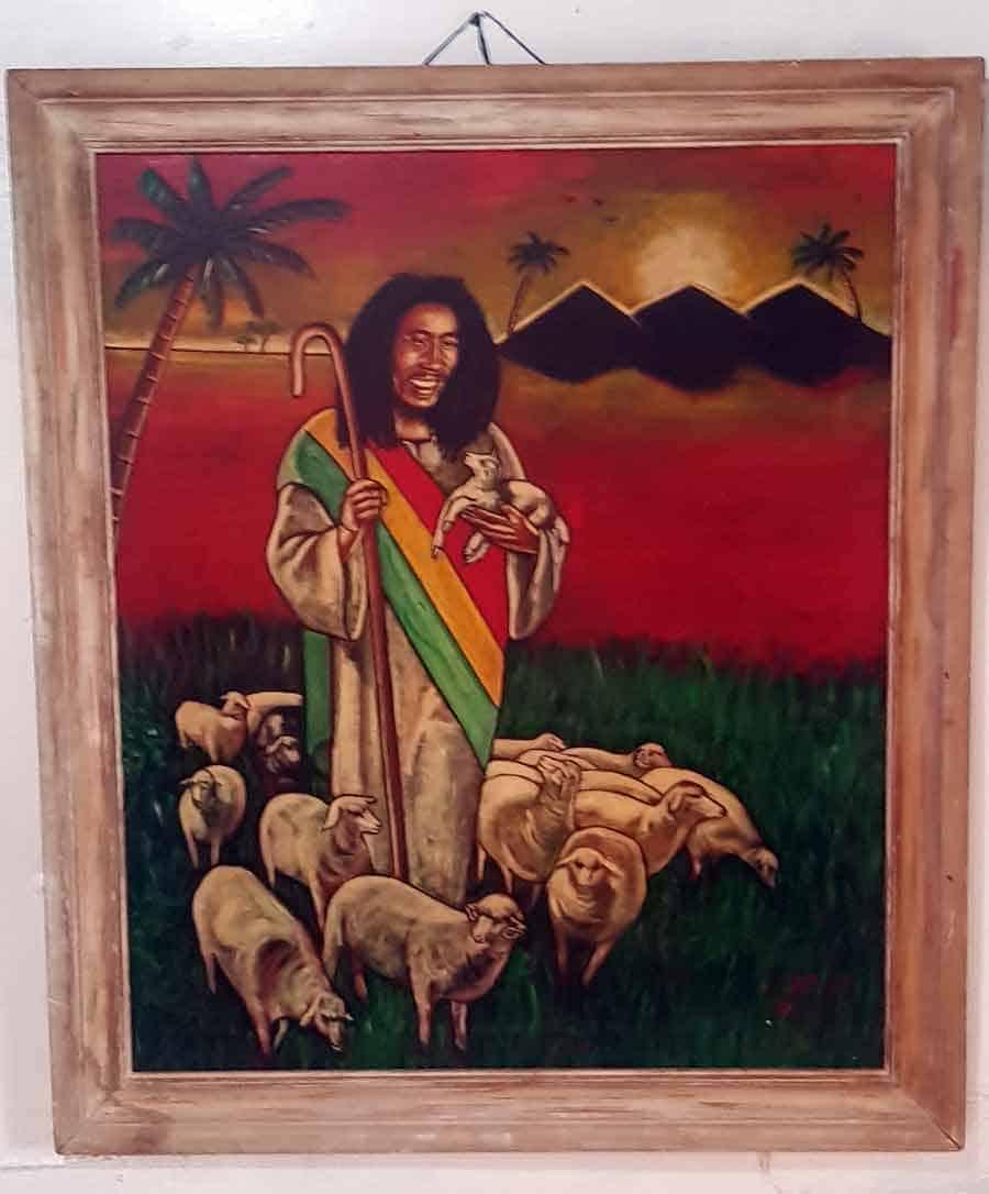 """Biblijski motivi: Marli kao """"dobar pastir"""""""