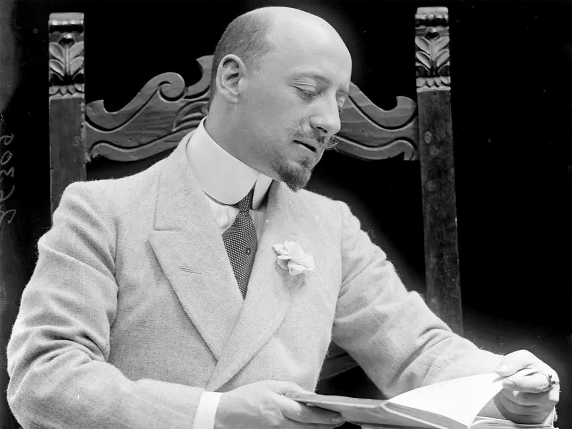 Pesnik Gabrijele D'Anuncio, vladar Rijeke 1919-1920.