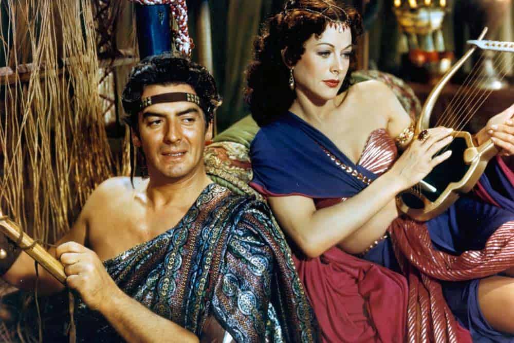 """""""Samson i Dalila"""": Hedi Lamar u filmu Sesila B. De Mila iz 1949."""