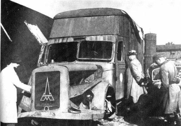 """""""Dušegupka"""" - kamion u kojem su izduvnim gasovima ubijani logoraši"""