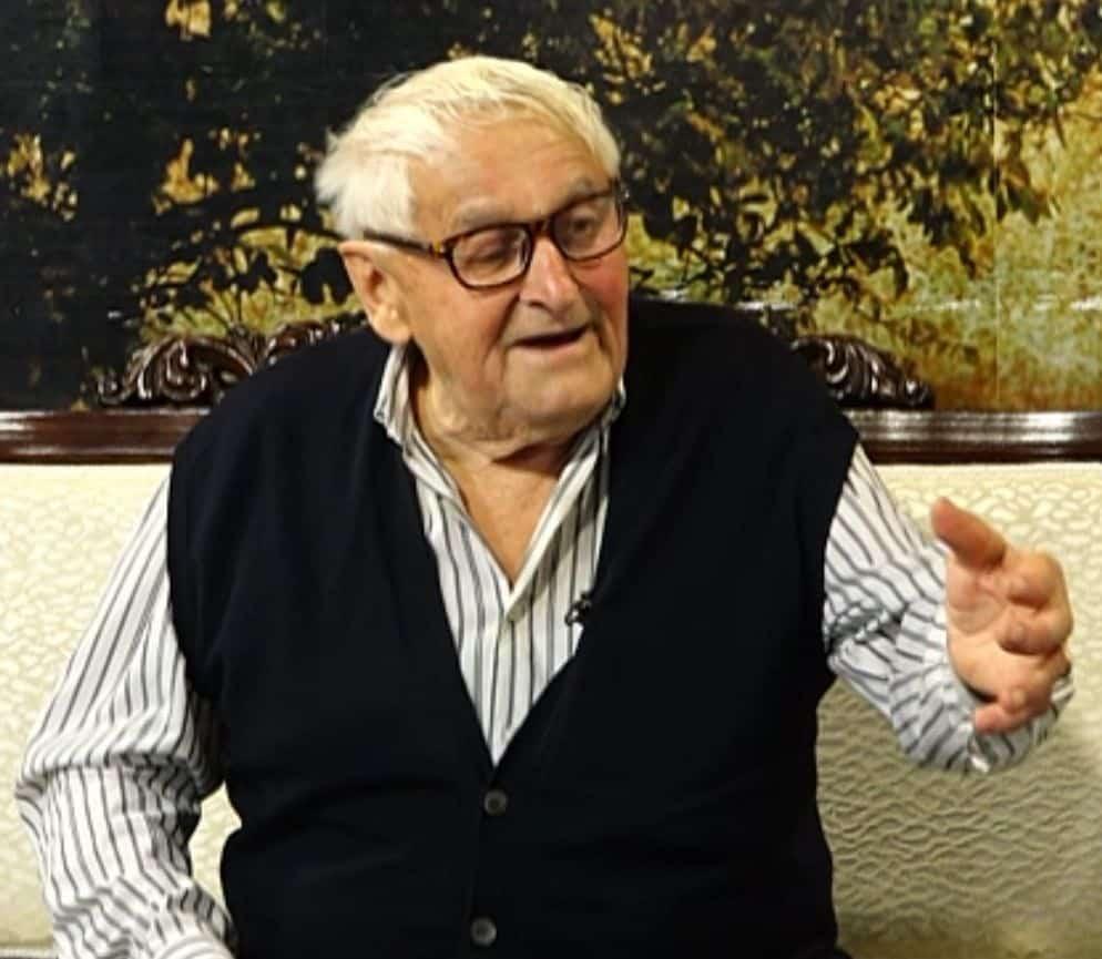Gavrilo Vinčić, jedini živi svedok zločina u Molovinu 1942.