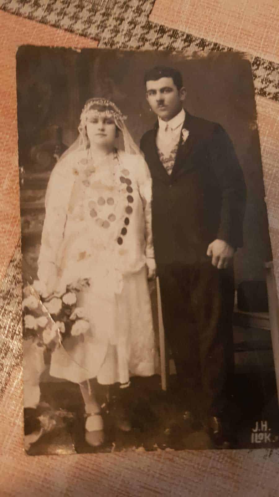 Milanovi roditelji Jovanka i Đoka na venčanju