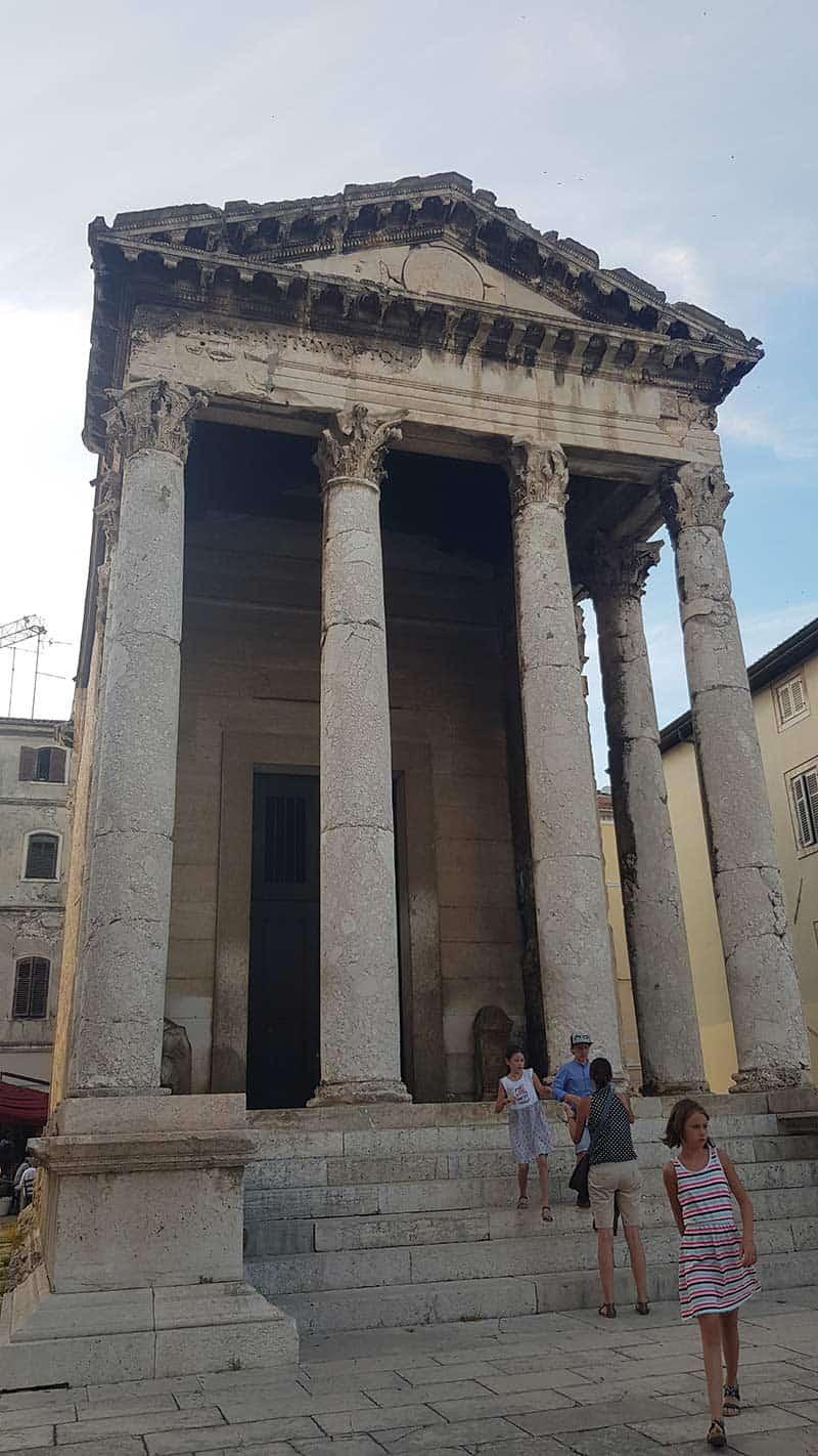 Izgradnja završena kad je Isus imao 14 godina: Augustov hram u Puli
