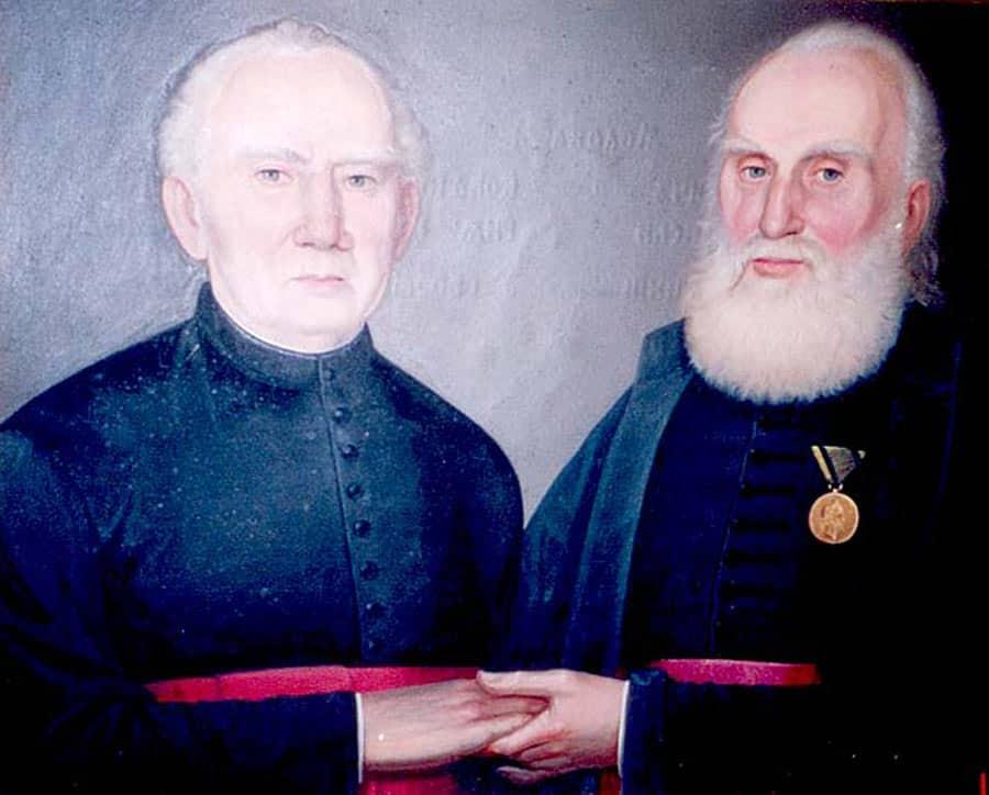 """""""Katolički i pravoslavni sveštenik u Beogri"""", Đorđe Pecić, 1878."""