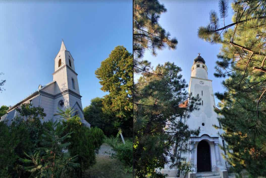 Suživot: Katolička i protestantska crkva u Belom Blatu