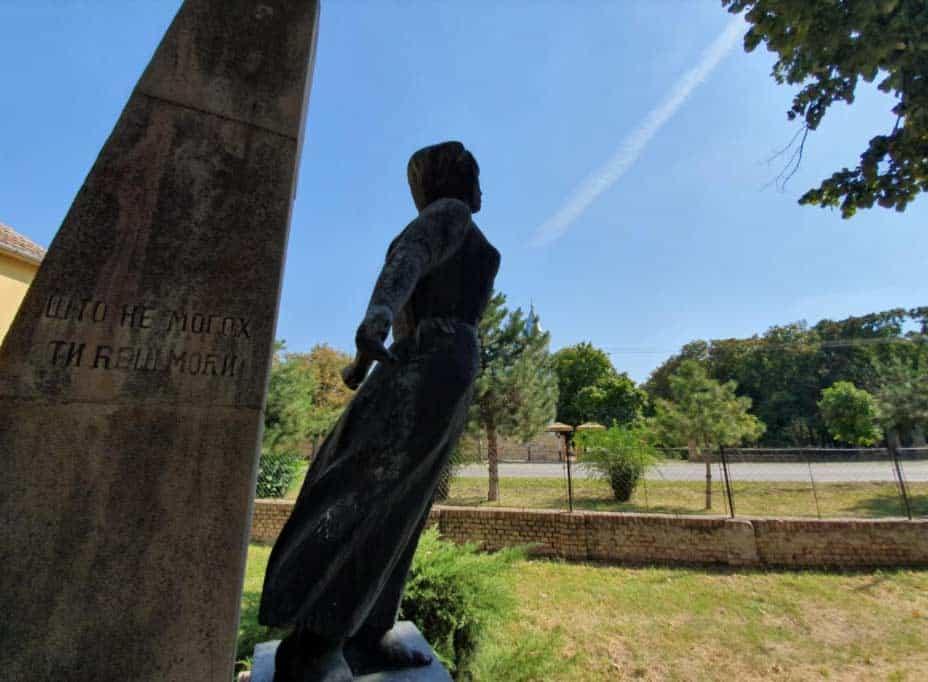 """Gde ja stadoh..."": Spomenik partizanima u Perlezu"