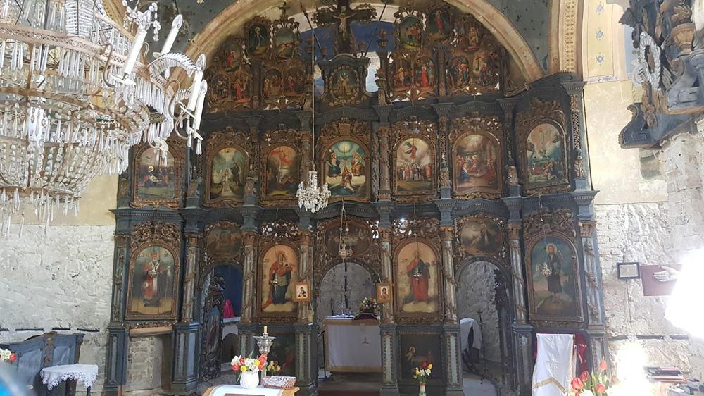 RAD AKSENTIJA MARKOVIĆA: Ikonostas iz 1790. u Crkvi Sv. Nikole u Jasku