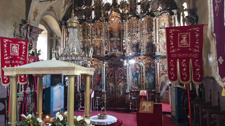 """RASKOŠ """"SRPSKOG BAROKA"""": Ikonostas u crkvi u Despotovu"""