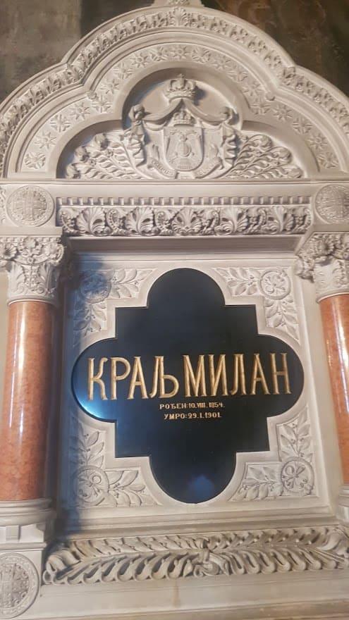 Poslednja želja umirućeg kralja: Grob Milana Obrenovića u manastiru Krušedol