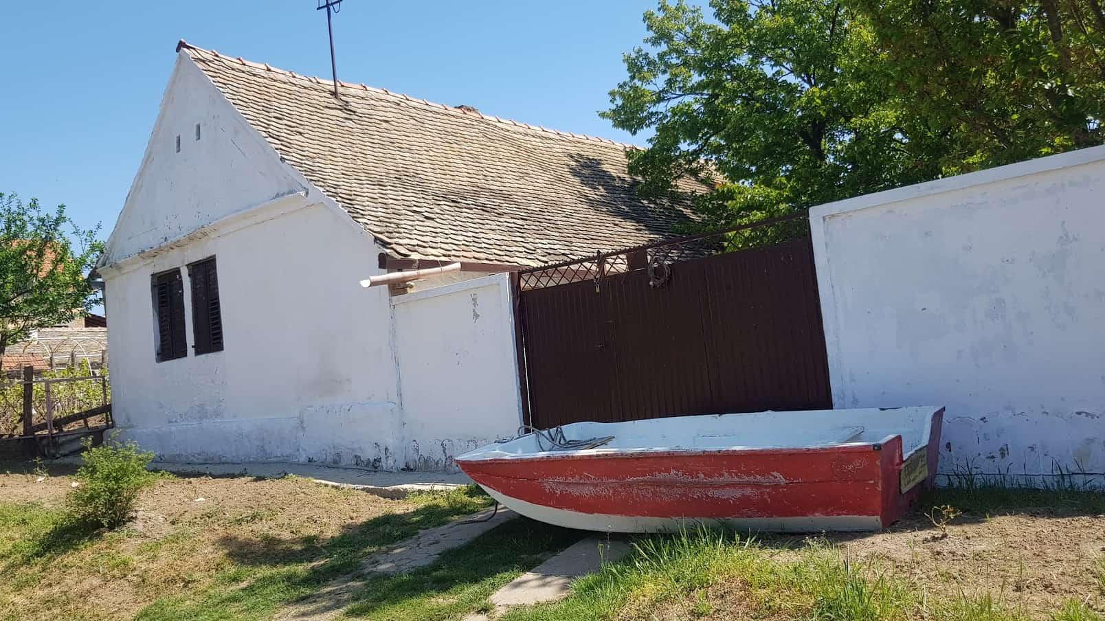 Nasukana panonska mornarica: Kuća u Starom Slankamenu