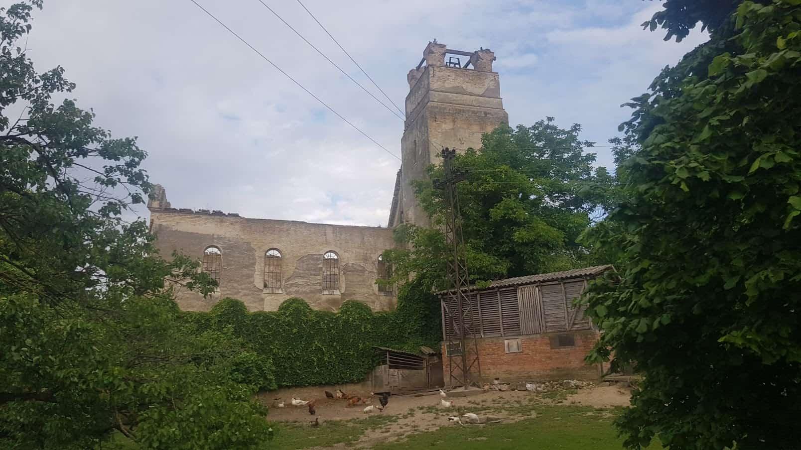 Uskoro Centar za izučvanje vinske kulture: Ostaci neogotičke crkve u Banoštoru