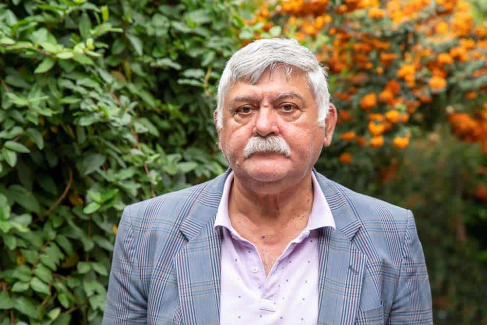 Ivan Vasić, sekretar Udruženja beogradski Cigana svečara tetkice Bibije