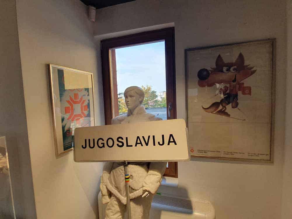 Sećanje na lepa vremena: Detalj iz Olimpijskog muzeja u Sarajevu