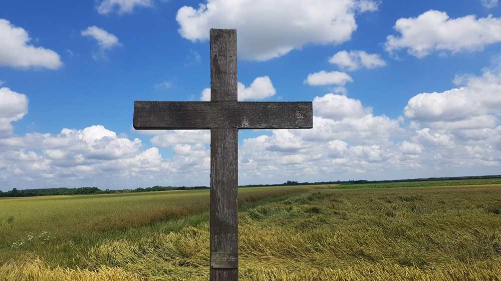 U spomen salašarima: Krst u ataru između Bođana i Plavne