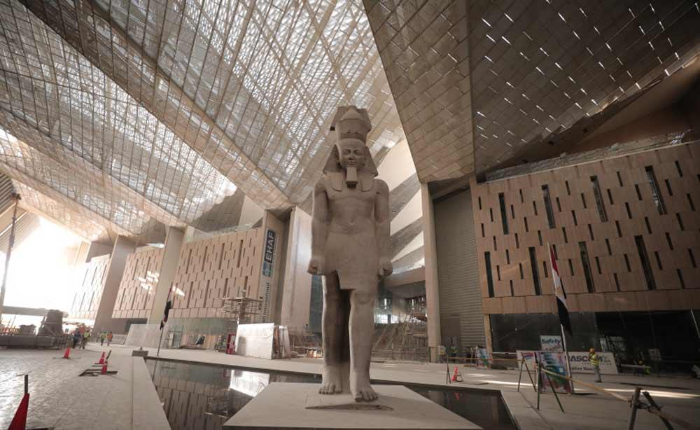 NAJVEĆI NA SVETU: Unutrašnjojst budućeg Velikog egipatskog muzeja