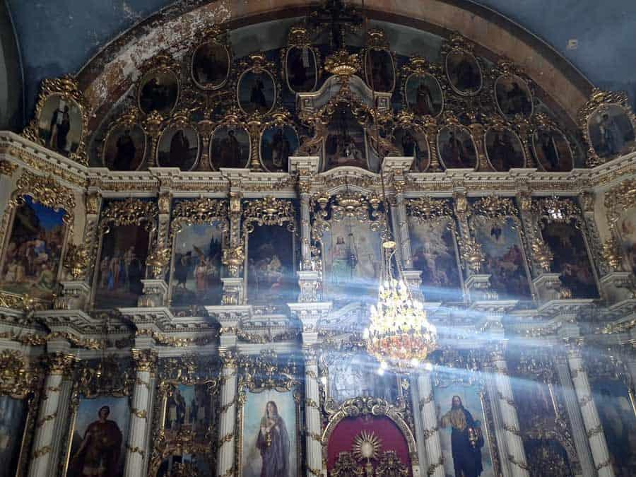 REMEK DELO UROŠA PREDIĆA: Ikonostas u Crkvi Sv. Đorđa