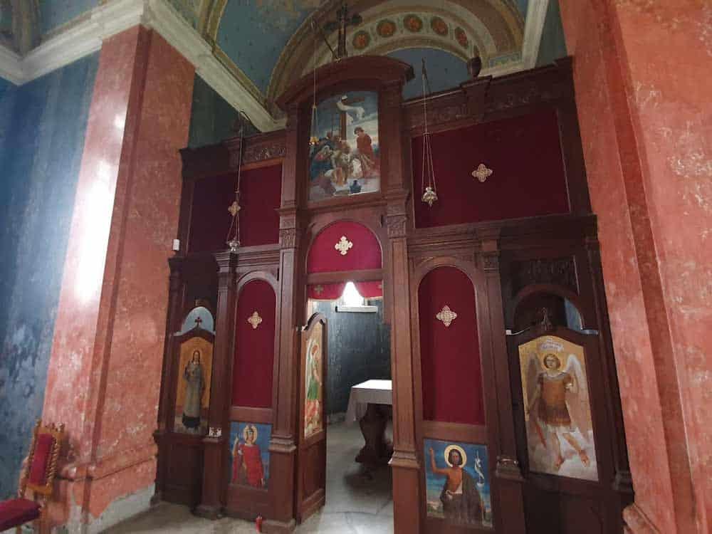 NEDOSTAJUĆE IKONE: Ikonostas u kapeli Bogdana Dunđerskog