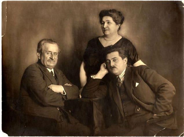 Otac srpske astronomije i metereologije: Milan Nedeljković sa suprugom i sinom