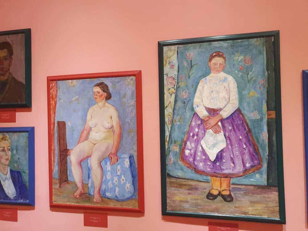 RASKOŠAN OPUS: Slike Pauline Sudarski u kolekciji Narodnog muzeja u Zrenjaninu